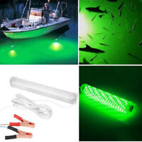 12V LED Underwater Submersible Fishing Night Light  Crappie Shad Squid Lamp New