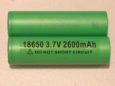 4 AUTHENTIC SONY US 18650 VTC5A HIGH DRAIN 40A Li-on Battery 2600mAh w/FREE CASE