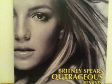 "BRITNEY   SPEARS    12""  VINYL  SINGLE,  OUTRAGEOUS REMIXES   (  PROMO )"