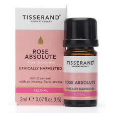 Tisserand Aromatherapy Rose Absolute Pure Essential Oil 2ml Ethically Harvested