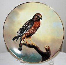 "1991 ""Red-Shouldered Hawk""Soaring Majesty Charles Frace George w/COA"