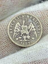 1887 MoM Mexico 10 Centavos