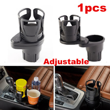 1x Adjustable Car Cup Holder Console Mount Water Bottle Stand Drink Holders