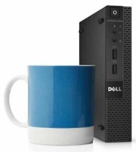 Dell OptiPlex 9020 Tiny Mini PC i5 4590T 2.0GHz 8GB RAM 500GB HDD win 10 Pro