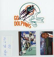 NFL FOOTBALL Autograph Lot - 12 Autos - OTTO GRAHAM, SAM WYCHE, JOHN ROBINSON