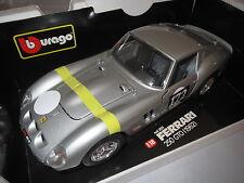 Umbau Ferrari 250 GTO (1962) , silbermetallic, #172 in 1:18, sehr selten!