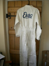 REPRODUCTION RETRO ESSO EMBROIDERED COTTON OVERALLS-Choose M,L,XL,XXL