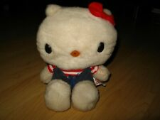 Hello Kitty Sanrio 1976 Plush Toy - Vintage San Francisco Jumper Stuffed Animal