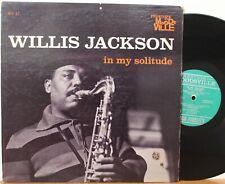 """Willis Jackson LP """"In My Solitude"""" ~ Moodsville 17 ~ RVG Mono ~ VG"""