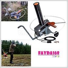 Auto-Feed Trap Wheels Clay Target Thrower Skeet Pigeon Shotgun Shooting Practice