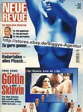 Neue Revue - Nr. 3/2000 vom 13. Januar 2000 - Frau 2000: Göttin oder Sklavin