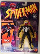 Spider-Man Animated Series Venom With Jaw Chomping Action ToyBiz (MOC) Marvel