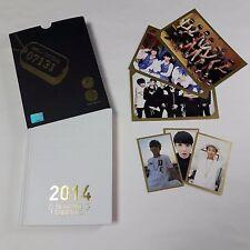 BTS 1st Fan Meetings Official Goods 2014 diary Photo Card set K-POP Bangtan boy