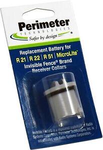 Perimeter Technologies Invisible Fence Compatible R21 R22 R51 Microlite Battery