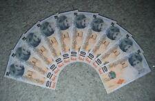 10 x Banksy di Faced tenners £ 10 Ten Pound Princesse Diana Replica notes