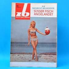 DDR Zeit im Bild ZB NBI 26/1965 Magdeburg Dresden Montmedy Günter Prodöhl D