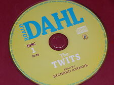 THE TWITS (read by Richard Ayoade) on Audio CD by ROALD DAHL  NEW