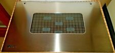 GE Oven Outer Door Panel SS WB36X10011, 259685 SATSF GUAR FREE EXP SHIPING
