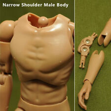 "1/6 Scale Accessories Ver 4.0 Narrow Shoulder Male Body 12""for Action Figure Toy"