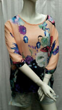 Unbranded Butterfly Floral Tops for Women