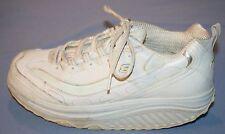 Skechers Weiß Silber Sn 11800 Sz 9 Shape Ups Wandern Damen Schuhe Sneakers