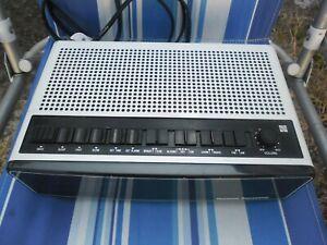 Vintage Retro 1970s National Panasonic Clock Radio 'RC-100BE' - FM MW LW - Japan