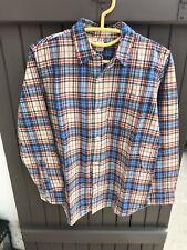 Chemise manches longues / A carreaux / Marque Gap / Taille 14-16 Ans