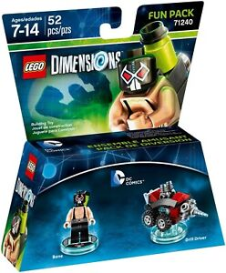 LEGO (Dimensions)  Bane Fun Pack (#71240) New in Sealed Box