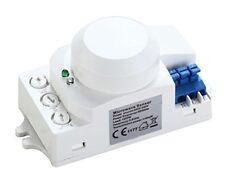 HF Sensor, Bewegungsmelder 360°, 10m Reichweite, Mikrowellen-Bewegungsmelder