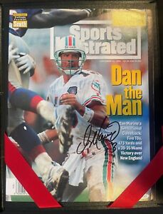 Dan Marino Autograph Signed Sports Illustrated Upper Deck Authenticated