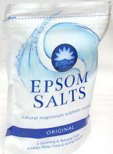 Elysium Spa Epsom Bath Salts Natural Magnesium Sulphate Crystals 450g - ORIGINAL