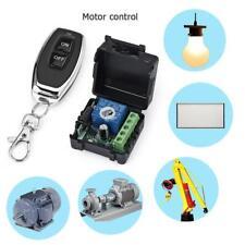 DC12V Relay 1CH 433MHz Wireless RF Garage Door Remote Control Switch Transmitter