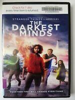 The Darkest Minds, 2018, PG-13, Action Adventure Drama, DVD Movie, Like New