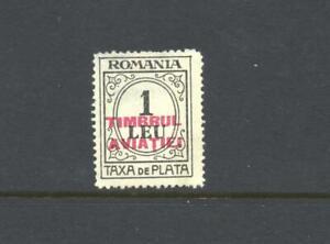 Romania 1931 SG  TD 1219 Aviation Fund Air MH