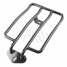 Black Solo Seat Luggage Rack For Harley Sportster XL 883 Low Police 1200 04-2015