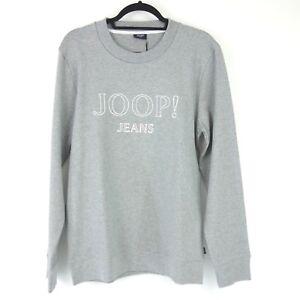 Joop! Men's Sweatshirt Shirt Model Alfred Size L Grey Cotton Soft Np 89 New