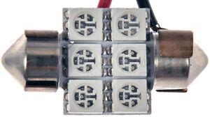 Dorman 3175R-SMD 3175 Red 5050SMD 6 LED Bulb