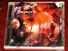 Beseech: Black Emotions CD 2000 Pavement Music USA 76962-32350-2 Original