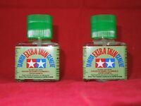(2) TAMIYA 87038 EXTRA THIN CEMENT PLASTIC MODEL GLUE 40 ml MODELING 2 PACK