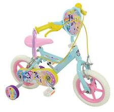 My Little Pony Girl Bike, Pale Blue, 12-inch with Removable Stabilisers