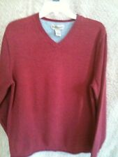 Lot of 2 Ruff Hewn pullover v-neck sweaters MED