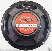 "Eminence GA10-SC64 10"" Guitar Speaker by George Alessandro 8 ohm FREE SHIPPING!"