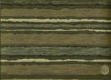 Pallas Painted Stripe Carbon Abstract Contemporary Stripe Upholstery Fabric