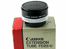CANON Extension Tube FD 25-U. Retail Box Included.