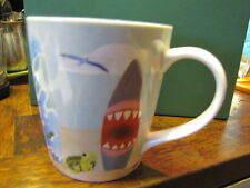 2010 Starbucks Hawaii Coffee Tea Mug Cup Turtle Surfboard Bone China 10 oz Tag