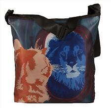Cat Small Cross Body Bag - From My Painting, Salvador's Reflection