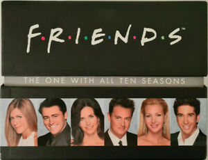 FRIENDS THE ONE WITH ALL TEN SEASONS DVD BOX SET TELEVISION SERIES