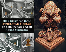 RMS TITANIC Grand Staircase Pineapple Finial White Star Line handcrafted replica