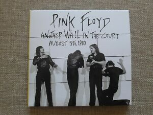 Pink Floyd  - Another Wall In The Court 2 Disc CD  -  August 5th, 1980.. New