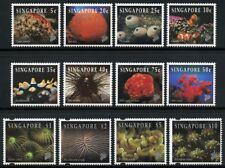 Singapur Singapore 1994 Leben auf dem Korallenriff Fisch 710-17 I + 720-23 I MNH